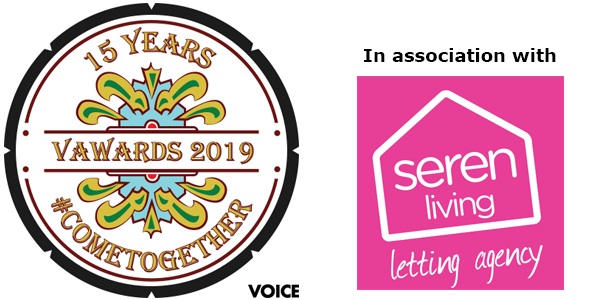 We Are Voice: V Awards 2019 in association with headline sponsor Seren Living Letting Agency