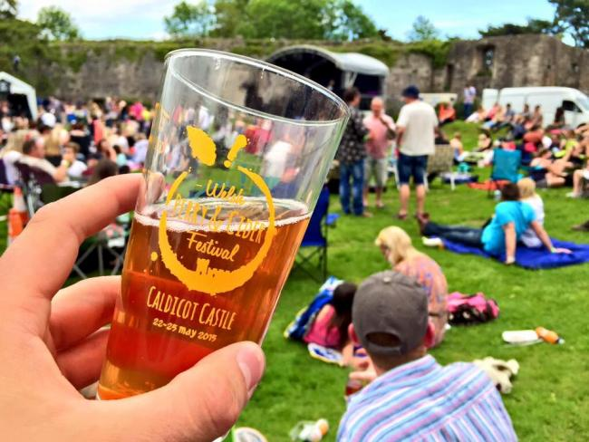 Up for grabs - two pairs of tickets to this year's Welsh Perry & Cider Festival!