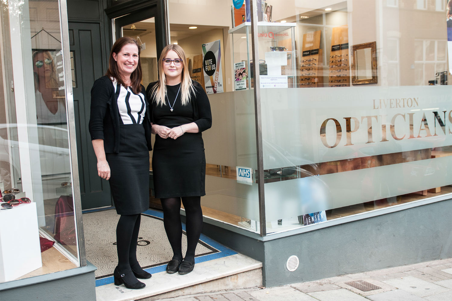 November's business of the month is Liverton Opticians
