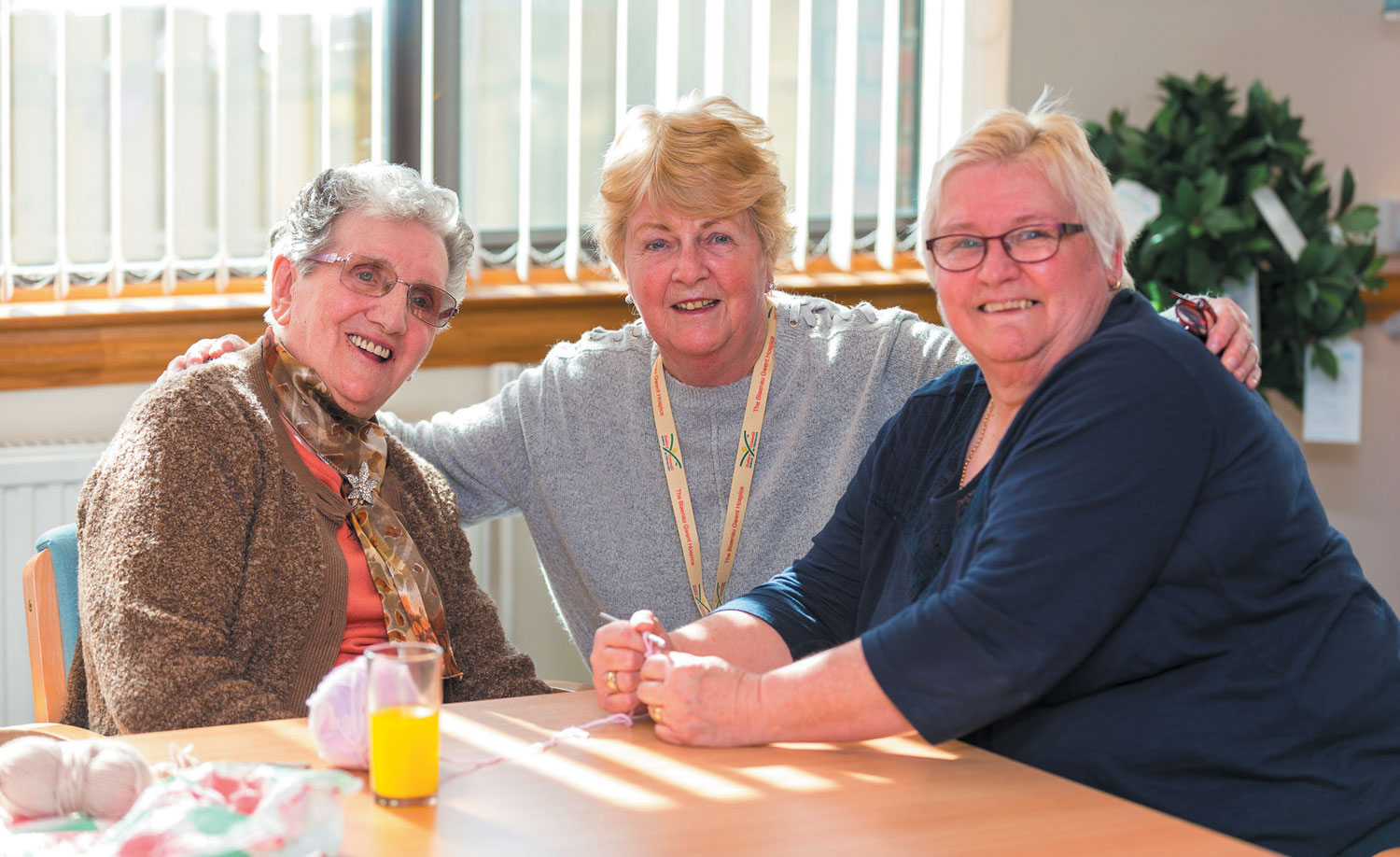 Hospice's Helping Hands