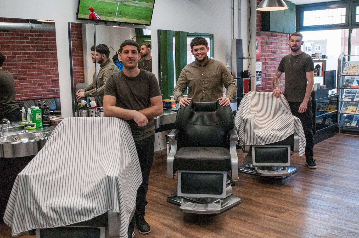 No. 1 Barbers are March's barbers of the month