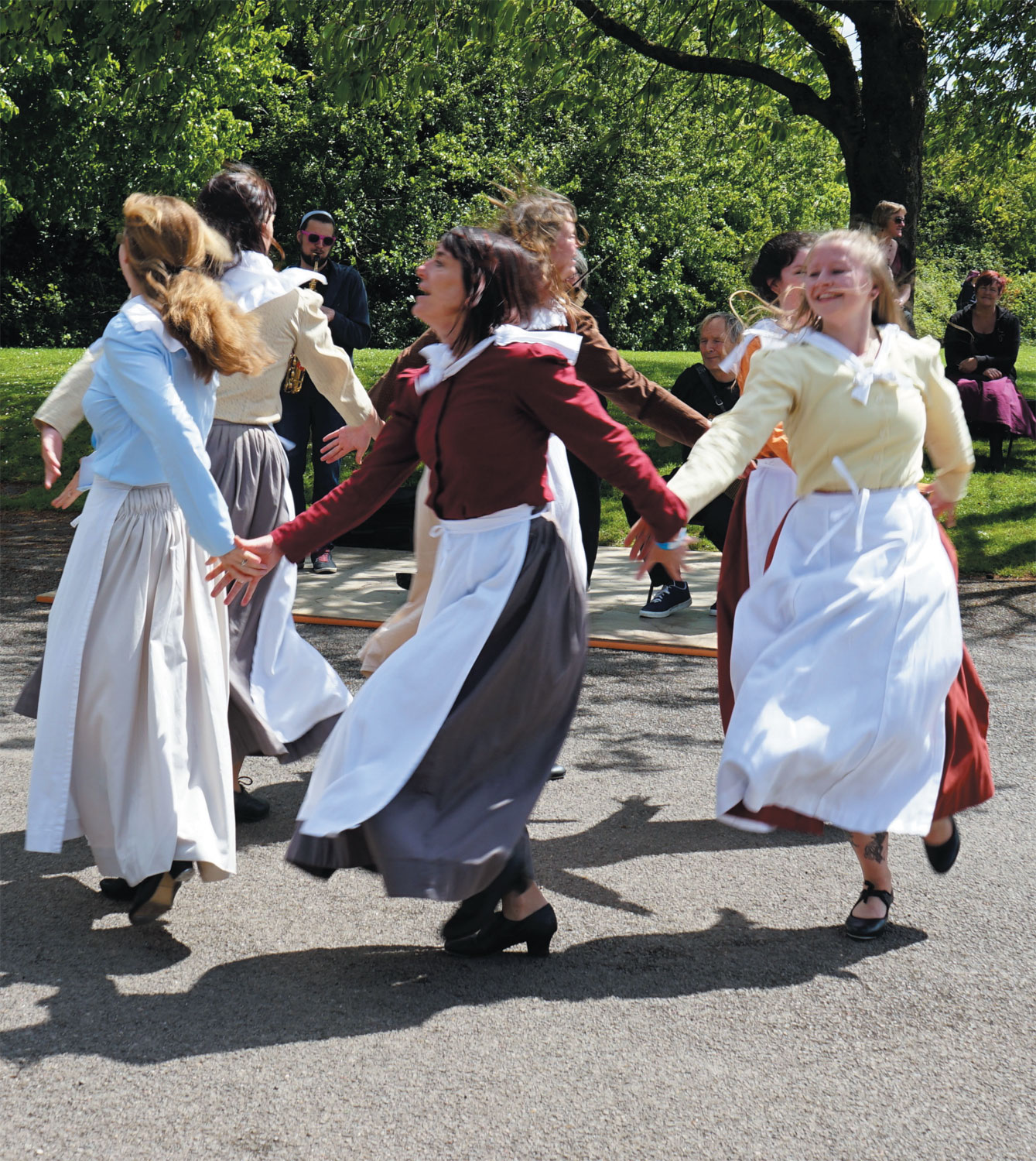 Celtic knot: Cornish dancers display their heritage. Photo: Stephen Lyons