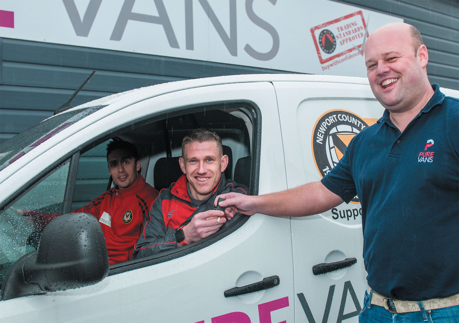 Pure Vans are committed to providing a service for the local community