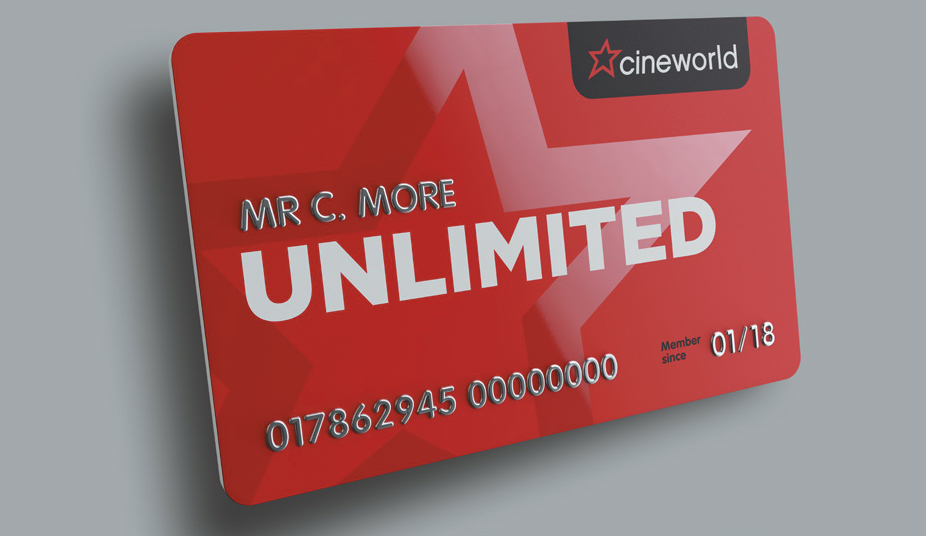 Win a year's worth of free Unlimited cinema at Cineworld Newport